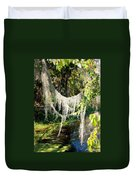 Spanish Moss Over The Swamp Duvet Cover