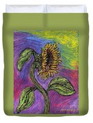 Spanish Sunflower Duvet Cover
