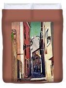 Spanish Town Duvet Cover