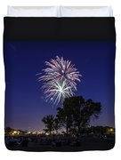 Spark And Bang Duvet Cover