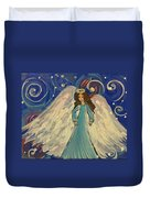Sparkle Angel Duvet Cover