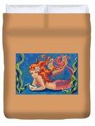 Sparkle Mermaid Duvet Cover
