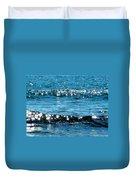 Sparkle Waves  Duvet Cover