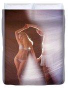 Sparkling Dance Duvet Cover
