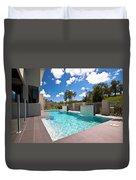 Sparkling New Pool Duvet Cover