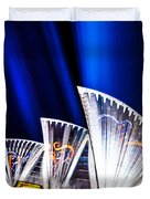 Sparkling Blades Duvet Cover