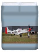 Sparky Takeoff Duvet Cover