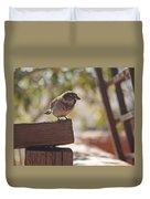 Sparrow. Duvet Cover