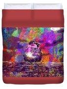 Sparrow Sperling Bird Close  Duvet Cover