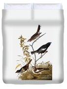 Sparrows Duvet Cover by John James Audubon