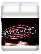 Spataros Duvet Cover