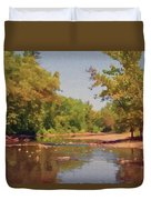Spavinaw Creek Duvet Cover