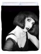 Speak - Self Portrait Duvet Cover