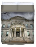 Speaker Matthew J. Ryan Building Duvet Cover