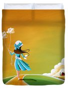 Special Delivery Duvet Cover by Cindy Thornton