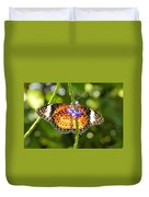 Speckled Butterfly Duvet Cover