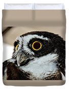 Spectacle Owl Duvet Cover