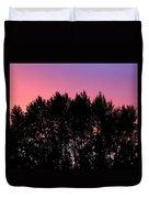 Spectacular Silhouette Duvet Cover