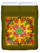 Spectracalia In Yellow Catus 1 No. 3 H A Duvet Cover