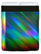 Spectral Curtain Duvet Cover