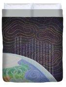 Spectrum Earth Spacescape Duvet Cover
