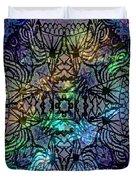 Spectrum Grid Duvet Cover