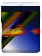 Spectrum Of Roses Duvet Cover