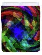 Spectrum Swirls Duvet Cover