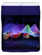 Spectrum Trees Duvet Cover