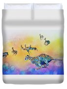Speed Kills Duvet Cover by Larry  Johnson