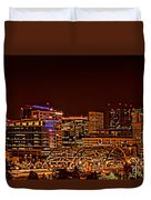 Speer Blvd Bridge Duvet Cover