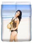 Spellbound Beach Beauty Duvet Cover