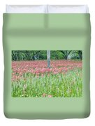 Spellbound By Indian Paint Brush. Duvet Cover