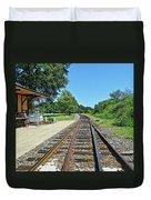 Spencer Railroad Station 2 Duvet Cover
