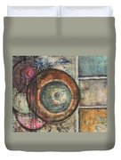 Spheres Abstract Duvet Cover