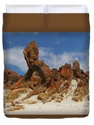 Sphinx Of South Australia Duvet Cover