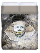 Sphinx - Rock Sculpture Duvet Cover