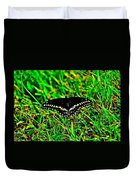 Spicebush Swallow Tail Duvet Cover