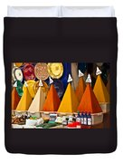 spices of Morocco Duvet Cover