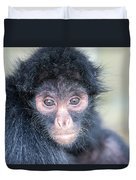 Spider Monkey Face Duvet Cover