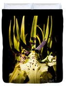 Spider Orchid Duvet Cover