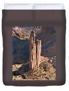Spider Rock - Canyon De Chelly Duvet Cover