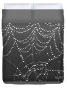 Spider Web Patterns Duvet Cover