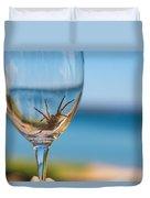 Spider Wine Duvet Cover