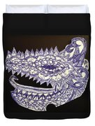 Spike Dragon Duvet Cover
