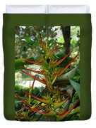 Spike Plants Duvet Cover