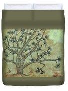 Spikey Tree No. 1 Duvet Cover