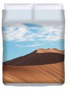 Spine Of The Desert Duvet Cover