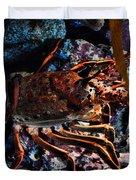 Spiney California Lobster Duvet Cover