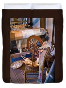 Spinning And Weaving Duvet Cover